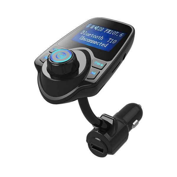 Haina-Bluetooth-Car-Charger-Wireless-USB-Charger-MP3-Player-FM-Current-Voltage-Display-T10